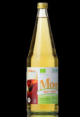 Bio Apfelmost 6,5 % vol. vom Biohof Wimmer