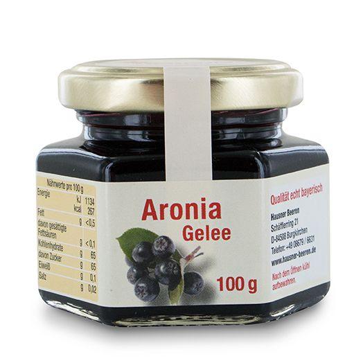 Aronia Gelee im 100 Gramm Glas