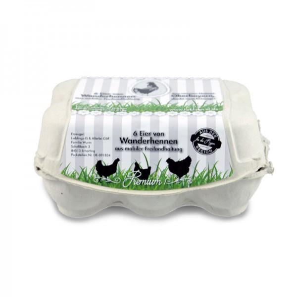 Lieblings-Eier aus mobiler Freilandhaltung 6er Pack