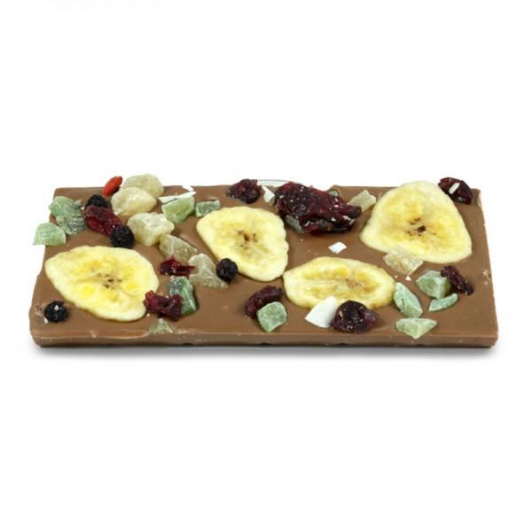 Tafel Gemischte Früchte Vollmilchschokolade