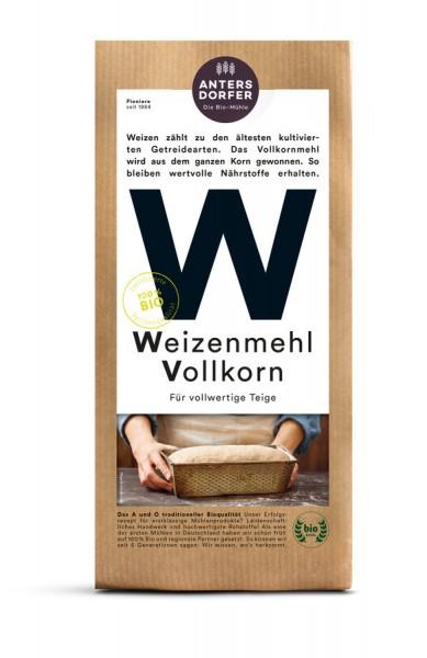 Weizenmehl Vollkorn