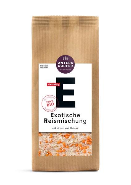 Exotische Reismischung (Langkornreis weiß, Rote Linsen, Quinoa)