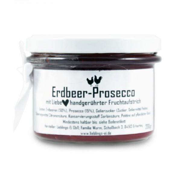 Erdbeer-Prosecco- Fruchtaufstrich