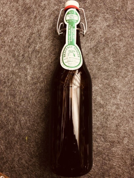 Berger Brauerei Vollbier Hell