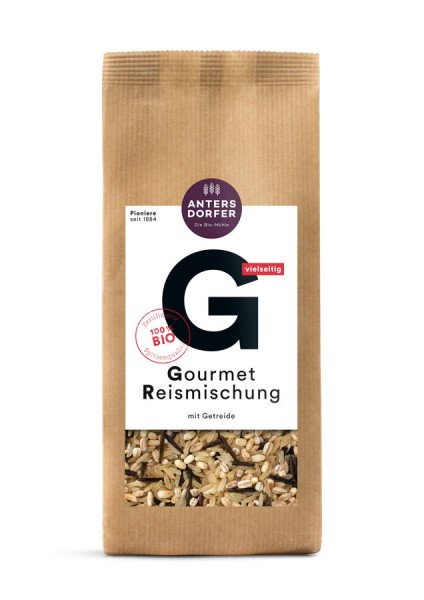 Gourmet Reismischung (Dinkel-, Parboiled-, Wildreis, Gerste Graupen)