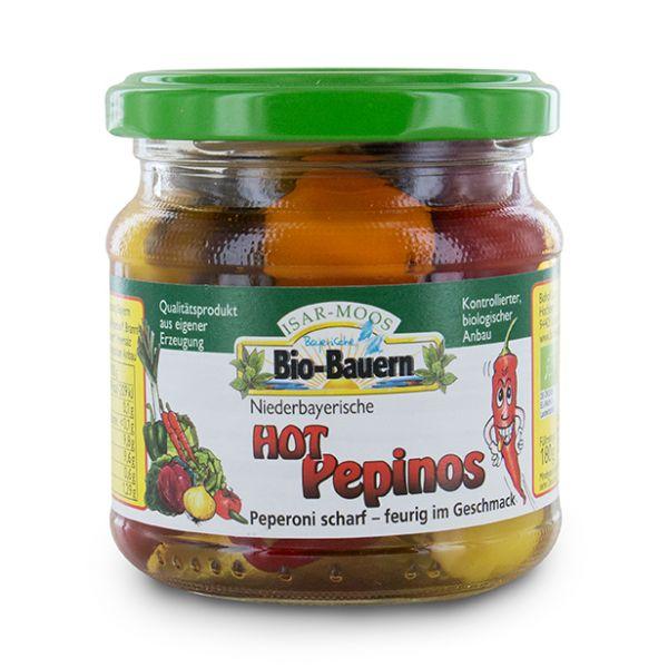 Hot Pepinos von Biohof Laurer