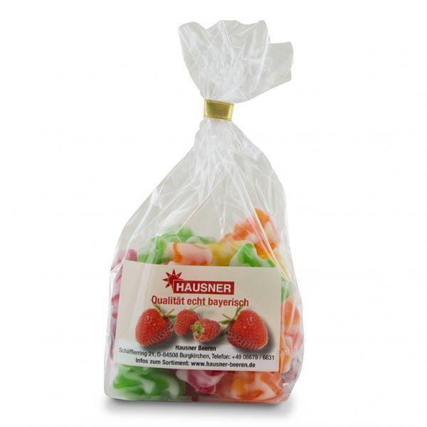 Gummibärchen Erdbeer-Bunt im 180 Gramm Beutel