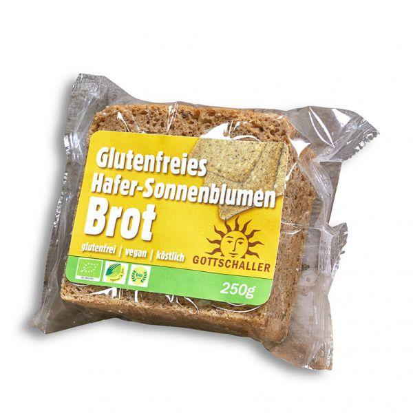 Bio Hafer-Sonnenblumenbrot in der 250 Gramm Packung