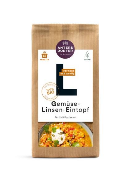 Gemüse-Linsen-Eintopf