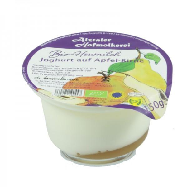 Joghurt Apfel-Birne