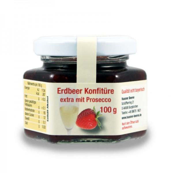 Erdbeer Konfitüre Prosecco