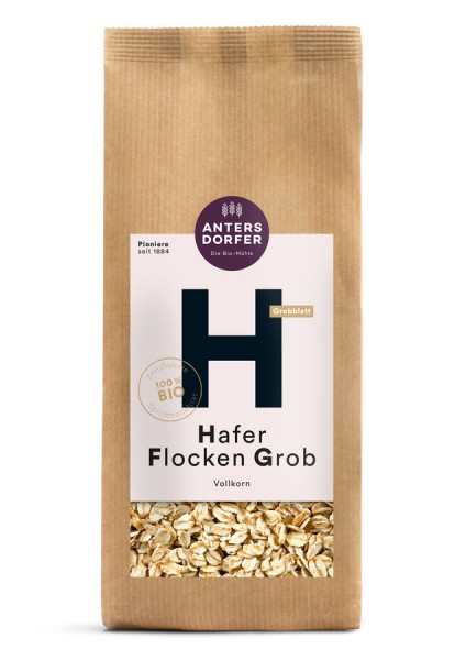Hafer Flocken Grob 500g
