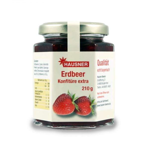 Erdbeer Konfitüre extra