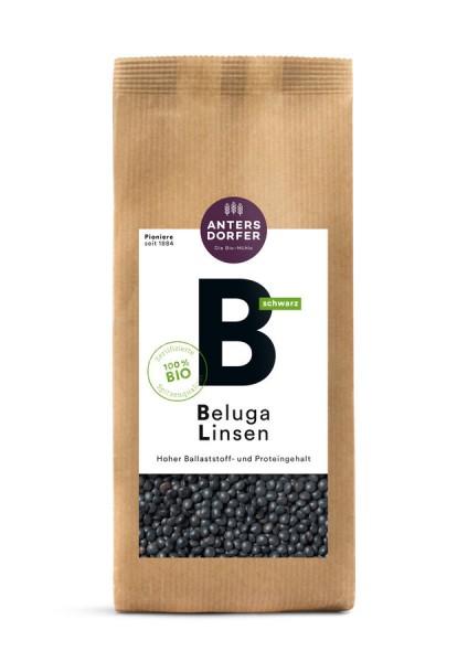 Beluga Linsen (schwarz)