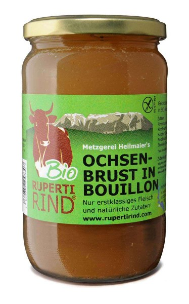 Ochsenbrust in Bouillon Bio