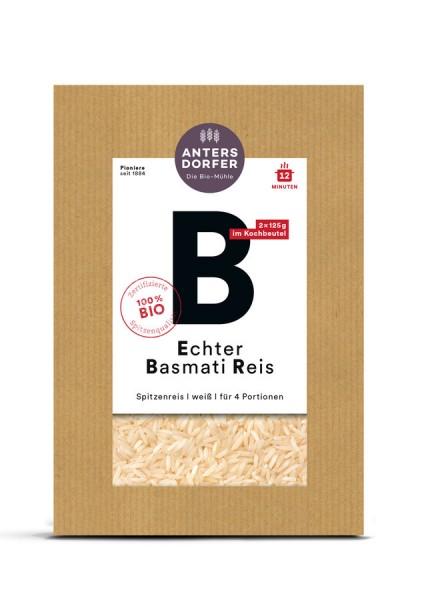 Echter Basmati Reis weiß (im Kochbeutel)