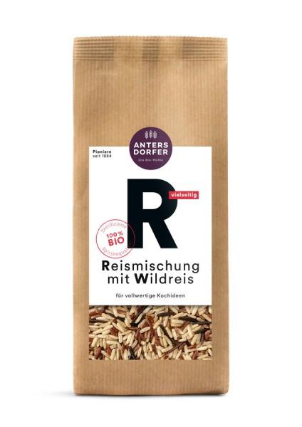 Reismischung mit Wildreis (Langkornreis natur, Roter Reis, Wildreis)