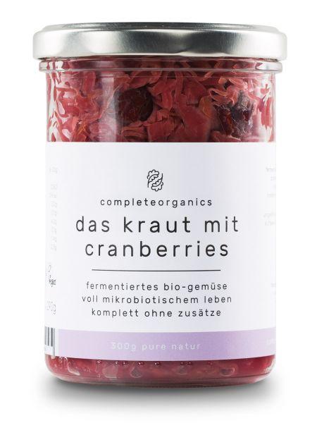 das kraut mit Cranberries Bio