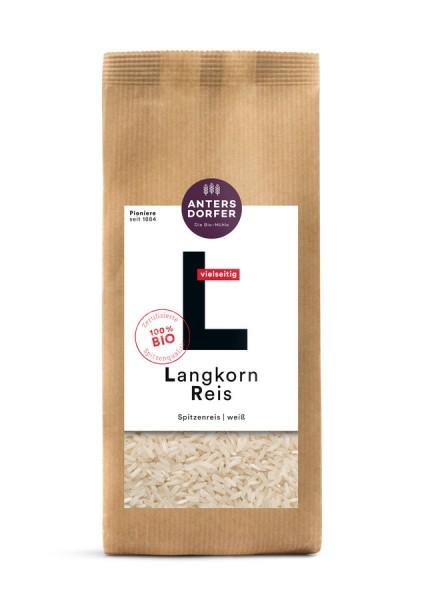 Langkorn Reis weiß (Spitzenreis) 1kg
