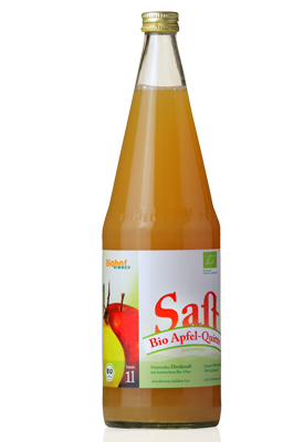 Bio Apfel-Quitte-Saft vom Biohof Wimmer