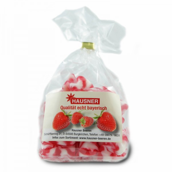 Gummibärchen Erdbeer Sahne