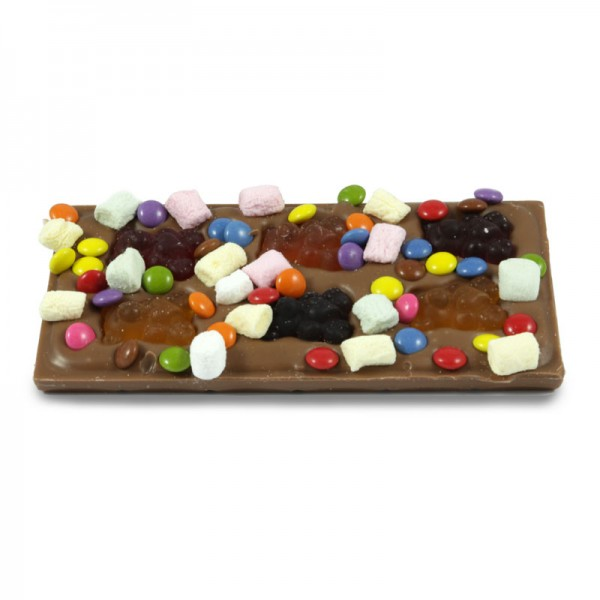 Tafel Kunterbunt Vollmilchschokolade