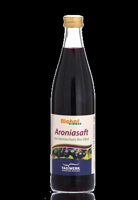Bio Aroniasaft vom Biohof Wimmer