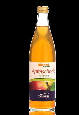 Bio-Apfelschorle vom Biohof Wimmer