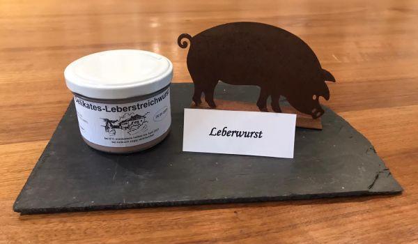 Feine delikatess Leberwurst
